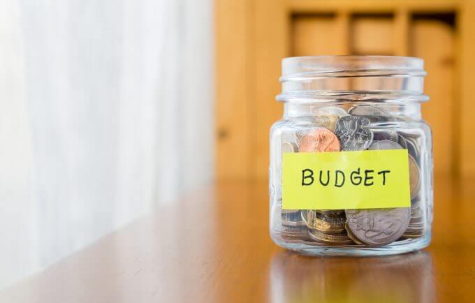 Budget Planning Jar