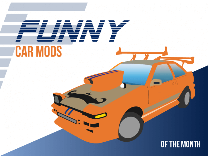 Funny Car Mods Of The Month