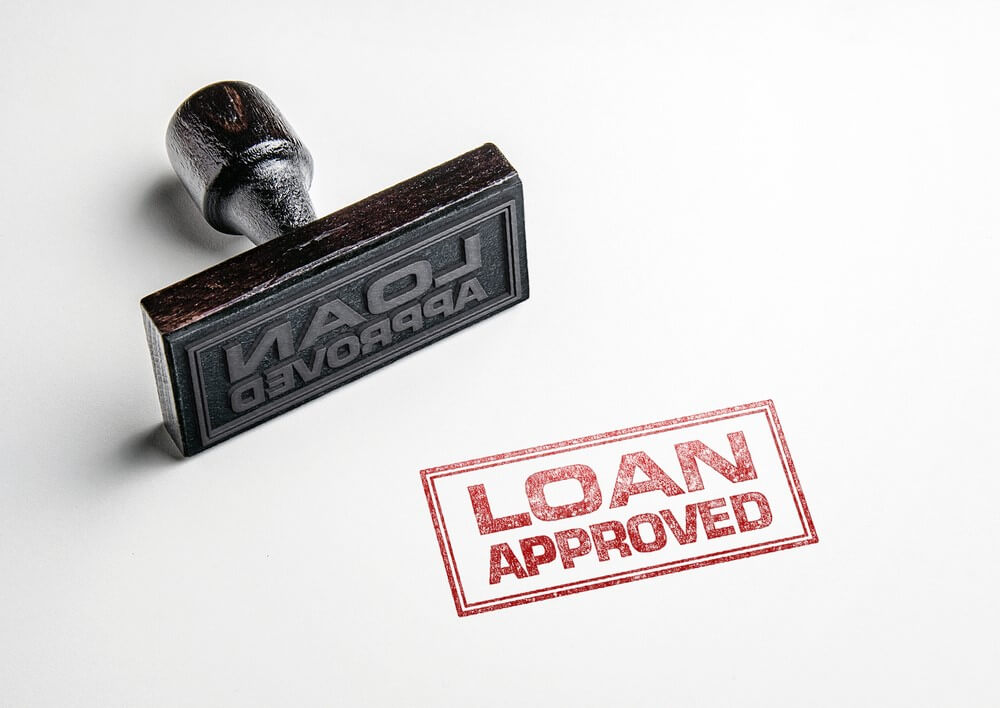 A Title Loan Approved With A Stamp