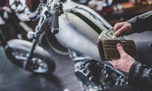 Motorcycle Title Loan Money Main